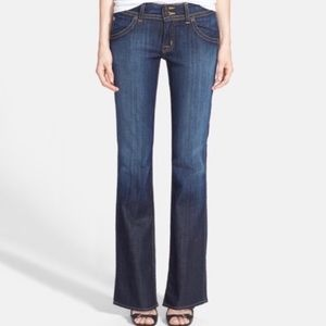 Hudson Signature petite boot cut jeans in elm wash